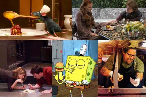 Famous meals on popular tv shows & movies